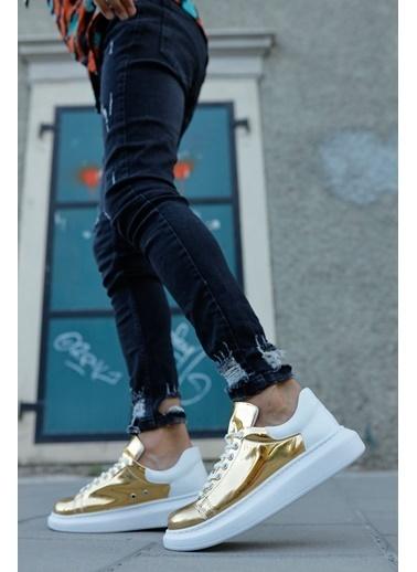 Chekich CH259 BT Erkek Ayakkabı ALTIN / BEYAZ Altın